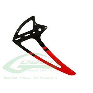 H0281-S Vertical fin red