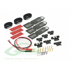 "H0551-S ""quick battery connection kit (include 3 battery try + charge cable)"""