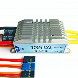 YGE 135 LVT brushless controller with telemetry