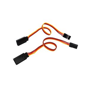 HA074-S	Cable ( JR male to Futaba female- Br/R/O -22AWG- 200mm)