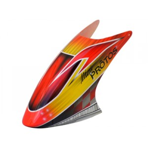 FUSUNO Red Racing Airbrush Canopy Mini Protos 450